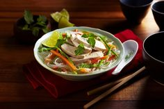 Quick and Easy Noodle Bowl Recipe Soup Recipes, Cooking Recipes, Healthy Recipes, Ww Recipes, Recipies, Image Healthy Food, Healthy Eating, Noodle Bowls, How To Cook Shrimp