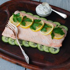 Cold Poached Salmon | Food & Wine