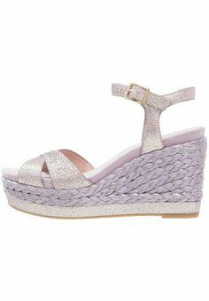 Tamaris sandali con plateau  lavand