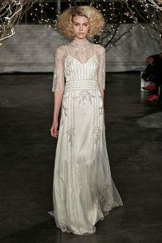 Jenny Packham, 2014. #BridalMarket #NYBridalMarket