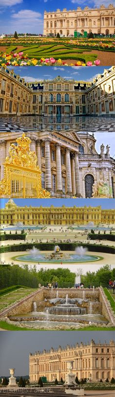 Versailles Palace. One of the most beautiful places I've been!