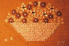 Seed art - it's fun to collect the seeds and create these unusual pictures by Alice B. Yeager Issue #42