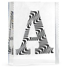 Modern Home Accessories | Lucite Block Letter | Jonathan Adler his version over a $100