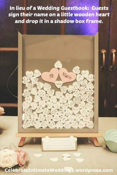 Guest Book! Add a picture instead of doing the bride and groom names on the heart... somehow need to add room for them to add a little message