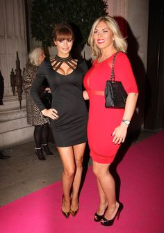 TOWIE star Chloe Sims in Rare London's Chain Neck Cut Out Dress! http://www.rarelondon.com/chain-neck-cut-out-dress.html