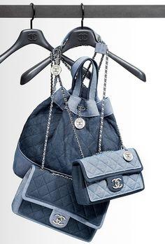 Chanel denim bags