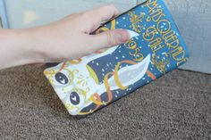 Masquerade Flat Hinge Wallet by FrozenCandy on Etsy