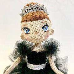 Ballerina Odetta #amigurumi #amigurumidoll #ooakdolls #handmadedoll #handmadeforsale #crocheteveryday #ballerinadoll #swanlake #dollmaker #crochetdoll #crocheteveryday #collectibledolls #odetta