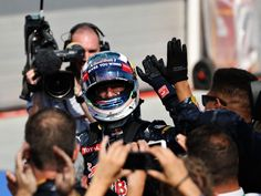 Back on the podium in Hungary for the third year in succession, Daniel Ricciardo says he had 'fun' on Sunday...