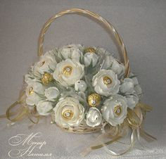 Gallery.ru / Фото #92 - Корзины с цветами и конфетами 400-1000 грн. - monier