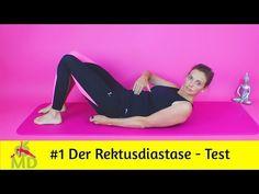 Die 5 besten Übungen gegen eine Rectus Diastase - Basisübungen - Beckenboden - querer Bauchmuskel - YouTube Fitness Workouts, Pilates, Pränatales Training, Yoga, Youtube, Sports, Baby, Pregnant Fitness, Physical Therapy
