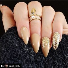 Laura Leth wearing Nail It Uk nails