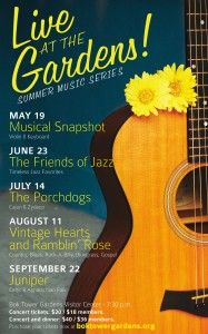 Sunny Central Florida » Live at the Gardens Summer Music Series Returns to Bok Tower- 2012