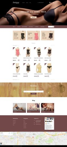 Attract more clients to your Lingerie store with Responsive MotoCMS Ecommerce Template. #underwearstoredesign #lingeriestorewebsite #motocmslayout #onlinestoredesign https://www.templatemonster.com/motocms-ecommerce-templates/lingerie-responsive-motocms-ecommerce-template-58818.html/