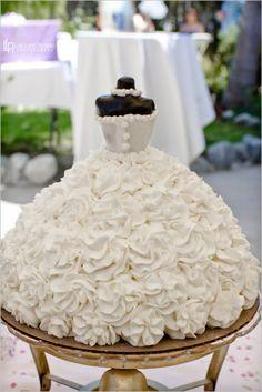 Bridal Shower Bride Wedding Cake