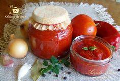 Ketchup de casa! Ketchup, Salsa, Pudding, Jar, Make It Yourself, Vegetables, Desserts, Food, Baby Shower