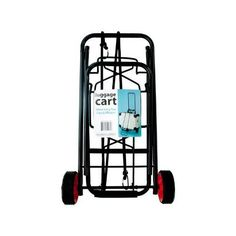 Portable Folding Luggage CartTired of lugging around multiple bags when traveling or shopping? This Portable Folding Luggage Cart is the perfect solution!