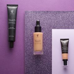Stay selfie ready! There are only three steps to being filter-free with Touch Glorious Face Primer Touch Mineral Liquid Foundation and Touch Mineral Skin Perfecting Concealer.     #foundation #complexion #flawless #skincarejunkie #makeup #makeuplover #musthave #glowy #concealer #primer