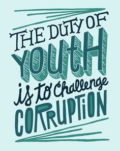 - Kurt Cobain #youth #corruption #typography