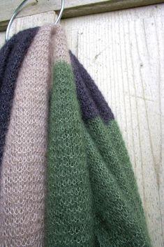 Color Blocked - eine Strickanleitung für einen federleichten Schal
