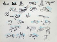 Sketches architectural on Behance