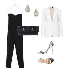 For the Antidress Girl Don't think dressing up has to mean putting on a dress. A jumpsuit is fun, easy, and chic when you add beautiful jewels and a bit of holiday shine to finish it off. You can take this look just about anywhere, from a holiday dinner to a big night out.