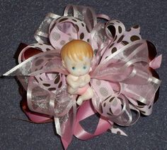 baby shower corsages | CLICK TO BUILD YOUR CUSTOM BABY SHOWER CORSAGE