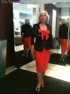 #ClientasViaVenettoParla  Guapísima Ana! Espectacular.  Ana ha elegido #Vestido de #Etxar&Panno , #Chaqueta y #Calzado de #Rinascimento . https://www.facebook.com/ViaVenettoParla?hc_location=timeline