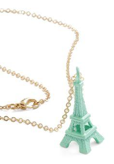 Blue La La Necklace | Mod Retro Vintage Necklaces | ModCloth.com