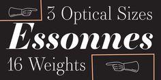 Essonnes - Webfont & Desktop font « MyFonts