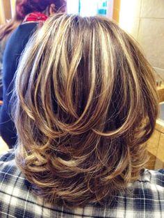 7. Medium Layered Haircut Ideas