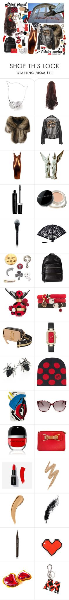 """""""Third Planet"""" by claire-marley on Polyvore featuring Skinnydip, Gucci, Boohoo, Marc Jacobs, Marc by Marc Jacobs, Urban Decay, Anya Hindmarch and Marni"""