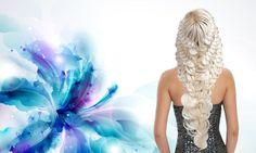 Как заплести красивую косу. Прическа из кос Braid hairstile Kapralova Ol...