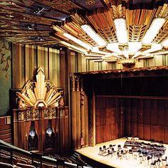 A 2007 restoration of the 1931 Martin Woldson Theatre, Spokane, Washington, US.