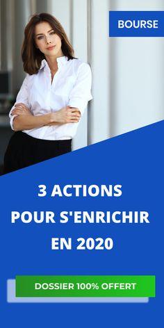 Cliquez sur le bouton vert et laissez nous votre adresse e-mail afin de recevoir nos 3 actions pour s'enrichir en 2020 par mail. Afin, Helping People, Online Business, Finance, Management, Internet, How To Get, Marketing, Logo