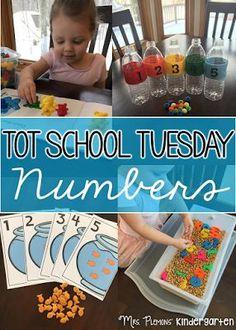 Mrs. Plemons' Kindergarten: Tot School Tuesday: NUMBERS