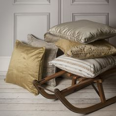 Add a touch of #bronze or #brown to your #living room this Autumn with these beautiful #cushions