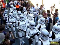 Imperial Stormtroopers -  Desfile en Santiago de Compostela el 25 de mayo