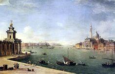 Antonio Joli, Bacino di San Marco, Venecia.