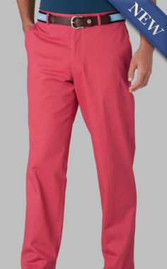 Channel Marker II Flat Front  Sailor Red-- I'd also like these.