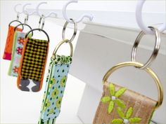 Scrap-It: Mini Key Fobs | Sew4Home