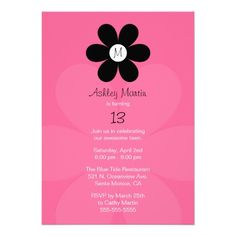 teen girl birthday party invitations - Google Search