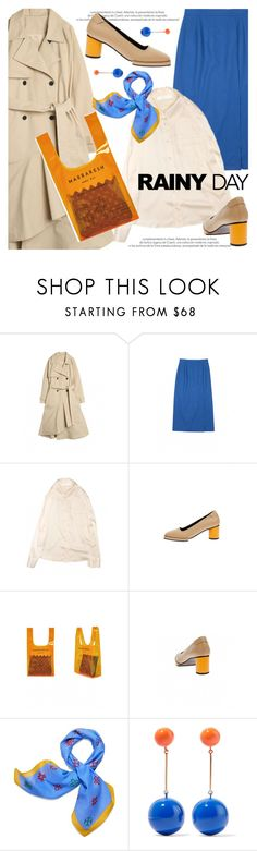 """""""Puddle Jumper: Rainy Day Outfit"""" by paculi ❤ liked on Polyvore featuring Tory Burch, J.W. Anderson and rainydayoutfit"""