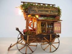 a-faerietale-of-inspiration: gypsy wagon . . .