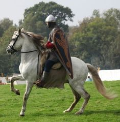 """The French Knight"", Battle of Hastings reenactor."