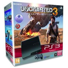 SONY PS3 320 GB KONSOL + UNCHARTED 3