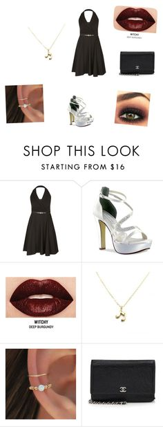 """Girls Night Out <3"" by demonlover2002 on Polyvore featuring City Chic, Touch Ups, Smashbox, Zara Taylor and Chanel"