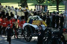 AC September 06, 1997: funeral procession towards Westminster Abbey of the late Princess Diana (July 01, 1961 - August 31, 1997, rest in peace).. Nearly 20 years  ago