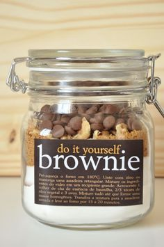 brownie mix gift - Google Search