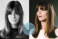 vintage french girl hair.
